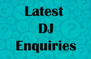 Wedding DJ Enquiries Oxfordshire